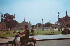 Royal Palace (homesickATLien) Tags: 35mm film art kodak expired mjuiii olympus travel cambodia khmer asia backpacking backpacker phnompenh palace spirituality religion tuk movement motion