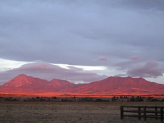Red In The Morning (jaygannett) Tags: colorado huerfanocounty ranch sunrise