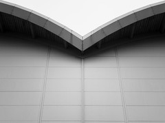 V (MobilShots) Tags: architecture building roof abstract blackandwhite monochrome iphoneography iphoneartist iphone iphonexsmax lines urban