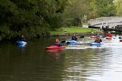 Sunday morning paddle on the Grand Union Canal (IanAWood) Tags: eyesofnikon hertfordshire nikkorafs85mmf14g nikond300 nikondx rickmansworth streetphotography theaquadrome walkinwithmynikon