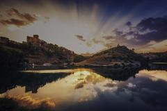 Alarcon (jcasas_10) Tags: sunset alarcon cuenca nubes longexposure largaexposicion riojucar ·rio nikon d750 filtronisi nisifilters