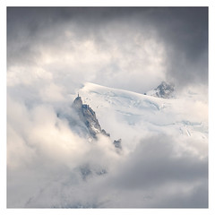 Aiguille du midi (danjh75) Tags: nikon tele clouds alps monteblanc aiguilledumidi cablecars 70300