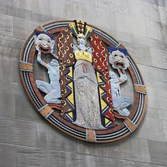 Deco Theater (skipmoore) Tags: newyorkcity nyc artdeco relief sculpture