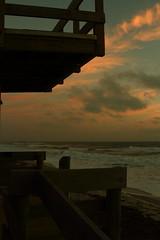 MORNING LIGHT (R. D. SMITH) Tags: morning ocean beach lifegaurdstand sand water canoneos7d florida atlanticocean