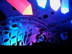 of the trees (citymaus) Tags: trees main stage design crystal crystals lights raindance 2018 musicfestival music festival mendocino county norcal glitchhop trap bass