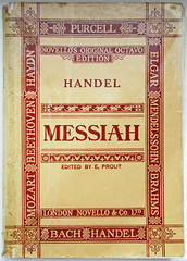 Prout:    291/365 (amandabhslater) Tags: messiah handel music score book prout 2018aphotographicdiary text
