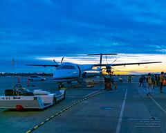 A Q400 Accepting the Last Rays of Golden Sunset (AvgeekJoe) Tags: iflyalaska alaskaair alaskaairlines bombardierdhc8402q bombardierdash8400 bombardierdash8q402 bombardierq400 d5300 dhc8402q dslr dash8 dehavillandcanadadhc8402qdash8 horizonair internationalairport ksea n430qx nikon nikond5300 propliners q400 seatac seatacinternational seatacinternationalairport seattle seattletacomainternational seattletacomainternationalairport tamron18400mm tamron18400mmf3563diiivchld washington washingtonstate aircraft airplane airport aviation plane propliner sunset turboprop dash8400 dehavillandaircraftofcanada dehavillandaircraftofcanadadash8400