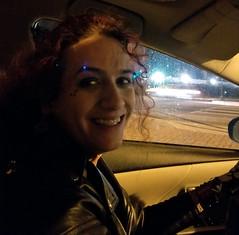 20180120 0147 - DC Social with Beth - Clio - (by Beth) - 20180120_014757 (Clio CJS) Tags: 20180119 201801 2018 20180120 driving virginia clio camerapersonbethh cameraphone smiling smile