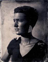 Lauriane II (Troisième type) Tags: portrait collodion humide wetplate 180mm busch pressman 4x5 lelabodutroisième