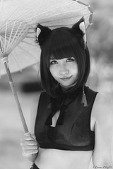 Natsumi Shiraho (iLoveLilyD) Tags: 2018 comiket emount c94 コミケ 屋外 ilce7rm3 85mm ilfordpanfplus50 vscofilm07 sony イベント mirrorless 国際展示場 felens ilovelilyd f14 sel85f14gm primelens gmaster gmlens fullframe gm a7r3 α comiket94 portrait bw α7riii japan tokyo 江東区 東京都 日本 jp