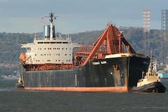 Yeoman Bank -- Leith -- 28-10-18 (MarkP51) Tags: yeomanbank leith firthofforth scotland selfdischarging bulkcarrier ship boat vessel nikon d7100 maritimephotography nikon200500f56vr imo7422881