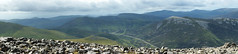 Glenshee Panorama (steve_whitmarsh) Tags: aberdeenshire scotland scottishhighlands highlands mountain hills panorama rocks abigfave topic