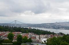 Bosphorus Bridge (hamid-golpesar) Tags: bosphorusbridge bridge bosphorus turkey istanbul river sky 15julymartyrsbridge firstbridge owaysee outdoor tabriz travel hamid hamidowaysee hamidgolpesar iran