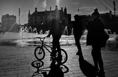 Hull UK (jlnurse100) Tags: sun fountain urban street water building