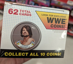 WWE Coin (earthdog) Tags: 2018 coin wwe wrestling prowrestling shopping store target ajstyles topps tradingcard word text package googlepixel pixel androidapp moblog cameraphone