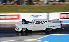 Crown Victoria_2899 (Fast an' Bulbous) Tags: racecar drag strip race track car vehicle automobile fast speed power acceleration motorsport santa pod outdoor nikon