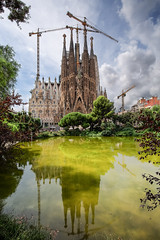 Una vista típica (noldor12) Tags: antonigaudí lasagradafamilia ensanche callemallorca basílica 1882 canoneos6d canonef1635f4lisusm barcelona cataluña spain estilomodernista