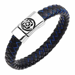 Nautical Anchor Magnetic Cuff Wristband (mywowstuff) Tags: gifts gadgets cool family friends funny shopping men women kids home