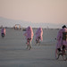 Burners In Pink Coats