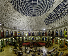 Newly renovated interior of the Corn Exchange in Leeds (EricMakPhotography) Tags: