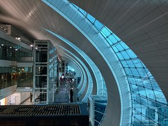 Dubai airport (Marian Pollock) Tags: dubai airport abstract lines lifts futuristic uae