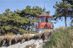 The lighthouse . (:: Blende 22 ::) Tags: lighthouse leutturm wood holz alt meer ocean germany german deutschland mecklenburgvorpommern hiddensee insel island blue water sand beach canoneos5dmarkiv buhne ef70200mmf4lisusm