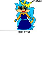 Draw Karnette in your Style (brittany8895) Tags: karen o koopa 2018 october draw your style oc medibang paint fanart drawings karnette bowsette