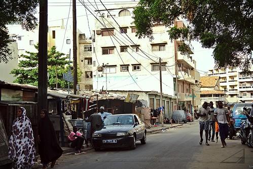 calles de Dakar
