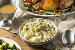 Healthy Homemade Mashed Potatoes (brent.hofacker) Tags: background boiled bowl butter carbohydrate cooked cooking creamy cuisine dinner dish fluffy food fresh gourmet healthy homemade ingredient mash mashed mashedpotato mashedpotatoes meal nutrition organic plate portion potato potatoes prepared puree pureed rustic thanksgiving traditional vegetable vegetarian white wooden yellow
