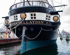 Constellation_121910 (gpferd) Tags: boat harbor tallship ussconstellation vehicle water baltimore maryland unitedstates us