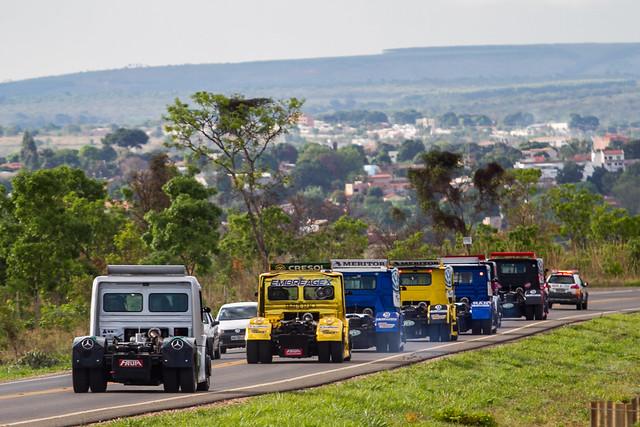 25/10/18 - Os brutos da Copa Truck invadem as ruas de Curvelo - Fotos: Duda Bairros e Vanderley Soares