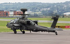 ZJ232 British Army Westland Apache AH.1 @ Exeter Airport, Devon. (PS Photogaraphy) Tags: zj232 british army westland apache ah1 exeter airport devon helicopter flight flying military boeing fighter avgeek avgeeks planes plane airplane chopper guns