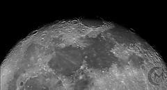 95.9% Waning Gibbous Moon - Terminator [2018.09.27] (1CM69) Tags: 1cm69 750d as3 astrophotography autostakkert bishnym bishopsnympton byeos canon canon750d celestron celestroncpc925 cpc925 exiftool geosetter kjevans luna lunar lune moon photoshop pipp starizonamicrotouchautofocuser waninggibbous england unitedkingdom gbr