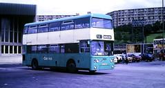 Slide 125-78 (Steve Guess) Tags: sheffield south yorkshire england gb uk bus station groves ckc319l daimler fleetline mcw merseyside