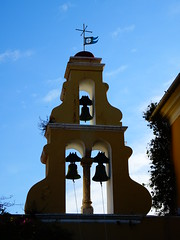 DSC06339 (omirou56) Tags: 43ratio sonydschx60v sky silhouette church bells ουρανοσ καμπαναριο καμπανεσ εκκλησια ελλαδα κερκυρα παλαιοκαστρίτσακέρκυρασ