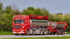 XS90698 (18.05.02, Motorvej 501, Viby J)DSC_6350_Balancer (Lav Ulv) Tags: 246668 2009 r620 v8 highline e5 euro5 8x4 r5 scania rseries pgrseries scaniarseries red rigid trailer kærre halfpipe tipper crane loadingcrane læssekran kelbergtrailer kasperlarsen truck truckphoto truckspotter traffic trafik verkehr cabover street road strasse vej commercialvehicles erhvervskøretøjer danmark denmark dänemark danishhauliers danskefirmaer danskevognmænd vehicle køretøj aarhus lkw lastbil lastvogn camion vehicule coe danemark danimarca lorry autocarra danoise vrachtwagen motorway autobahn motorvej vibyj highway hiway autostrada