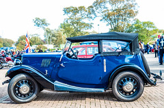 Classic Car Show. (CWhatPhotos) Tags: cwhatphotos digital camera pictures picture image images photo photos foto fotos that have which contain olympus penf lens classic car show vintage old motor vehicles houghton feast october 2018 north east england county durham uk cars blue metalic