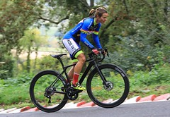 Hill climb (supersev41) Tags: 5d canon sports sport woman lady focus race competitor bicycle rider ride climb hill cycle bike