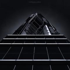 V on Shenton (Vanessa Lorraine Chea) Tags: light cityscapes city architecture urban building sky blackandwhite fineart singapore