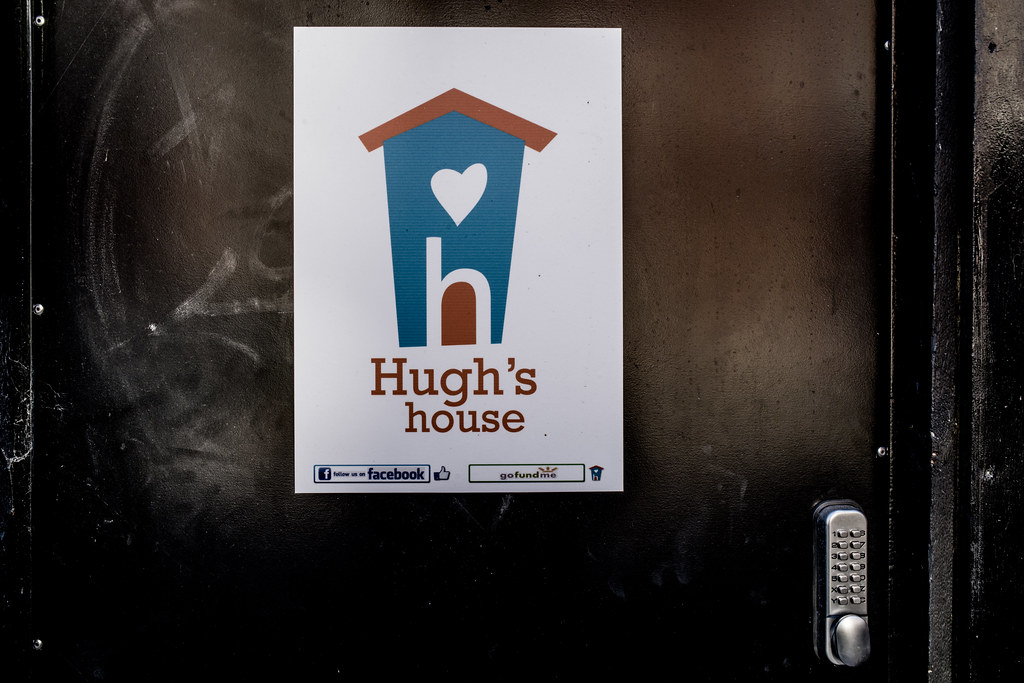 HUGH'S HOUSE AND GARDEN [43 BELVEDERE PLACE DUBLIN]-144894