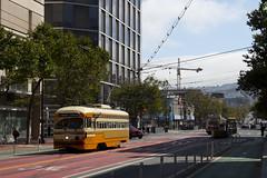 1075 - Market & 11th (imartin92) Tags: sanfrancisco municipal railway california muni pcc trolley streetcar rail transit cleveland