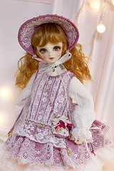 New work for MSD girl. 《Robin》 (Le-miel_Sojeong) Tags: drss bjd doll dolldress dollclothing dollphoto bjddress balljointeddoll lemiel handmade volks volksdoll msd