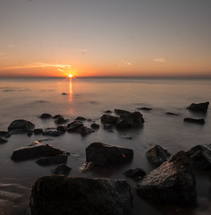 Horizon (selvagedavid38) Tags: sunrise dawn walton naze essex shore tide rocks water ocean seascape long exposure neutral density