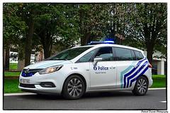 181007_001 (Patrick Decorte) Tags: brainelecomte hainaut belgique belgium ronquières tourdesdéfis2018 zp5328 policehautesenne police véhicule opel zafira