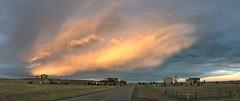Sunset: Fire Sky Northeast (northern_nights) Tags: firesky sunset cheyenne wyoming pano panorama
