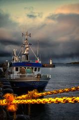 Norway - Little Ship (☺dannicamra☺) Tags: norway norwegen norge ship boat water sea sky schiff boot wasser meer nikon d5100 clouds wolken himmel
