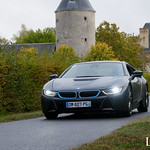 20181007 - BMW I8 - N(2386) - CARS AND COFFEE CENTRE - Chateau de Longue Plaine thumbnail