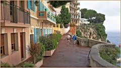 Ruelle Sainte-Barbe, Monaco (sous la pluie) (claude lina) Tags: claudelina france alpesmaritimes provencealpescôtedazur monaco