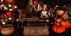 #201 - Halloween 🎃 (rhavena.rasmuson) Tags: raindale halloween astralia blackbantam peny yokai pumpkins follow4follow follow4followback fav4fav secondlife slfashion slavatar secondolife secondlifeavatar slavi sl gothiclolita foxy arcade theseasonsstory cauldrons sweetlolita girlpower girlpowerevent gacha doll darkness dark 3d event love free photosl clown horror cute kawaii fofo life likeforlike inworld bat cat kitty caldeirão brujas magical magic candles maitreya catwa ruivas redhead redlights shadow cutegirl babygirl lights instagram gamesonline rabbit hallo witch black