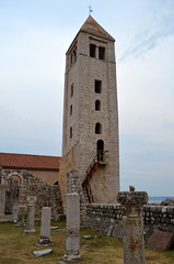 St. John's Bell Tower [Rab - 25 August 2018] (Doc. Ing.) Tags: 2018 rab croatia otokrab rabisland happyisland kvarner kvarnergulf summer mediterraneansea adriatic belltower stjohnsbelltower civictower belfry